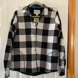 Orvis Flannel Shirt/Jacket NWT